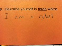 This visionary who plays by their own rules. | 20 Kids Who Are Definitely Going Places