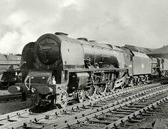 46250 City of Lichfield class Steam Trains Uk, City Of Birmingham, Steam Railway, British Rail, Steam Engine, Steam Locomotive, London City, Diesel, Train Stations