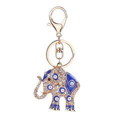 Pendant Handbag Keyring Elephant Shape