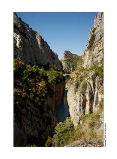 Olvena bridge and canyon, Huesca