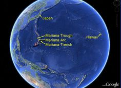 Because the Pacific plate is the largest of all the tectonic plates on Earth, crustal material at its western edge has had a long time since formation (up to 170 million years) to compact and become very dense; hence its great height-difference relative to the higher-riding Mariana Plate, at the point where the Pacific Plate crust is subducted. This deep area is the Mariana Trench proper.