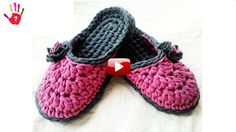 Do You Have Slippers From Your Old Combs? Crochet Slippers Making Crochet Slipper Pattern, Crochet Shoes, Love Crochet, Crochet Patterns Amigurumi, Crochet For Kids, Crochet Clothes, Crochet Stitches, Crochet Baby, Crochet Summer Dresses