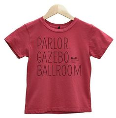 THE VENUE TEE by TuxedoTeacup on Etsy, $20.00
