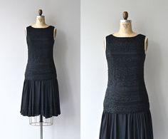 Kleine Louise Kleid • 1920er Jahren Perlen Vintage Kleid • 20er Jahre-Kleid