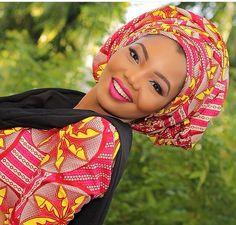 Attaché foulard ~African fashion, Ankara, Kente, kitenge, African women dresses, African prints, African men's fashion, Nigerian style, Ghanaian fashion ~DKK