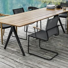 gloster split table | outdoor furniture | gloster UK