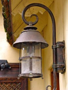 The perfect cottage exterior lamp.