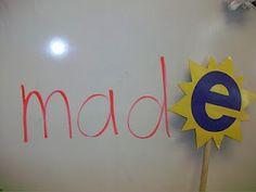 Magic E wand, fun!
