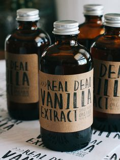 How to Make Vanilla Extract by Oh, Ladycakes