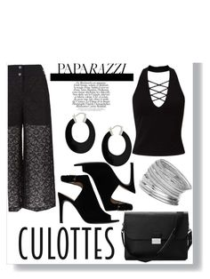 """""""thing10"""" by gilbert-awesome-beilschmidt ❤ liked on Polyvore featuring Pinko, Miss Selfridge, Tory Burch, Aspinal of London, Bling Jewelry, TrickyTrend and culottes"""