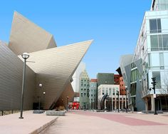The Denver Art Museum is a beautiful structure.  I really enjoyed the cities architecture and it's mix of western and modern style.