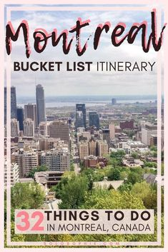 Here are some of the very best things to do in Montreal, Quebec, Canada. Best attractions to visit, day trips you must take, where to dine and what to purchase Mont Royal Montreal, Quebec Montreal, Montreal Travel, Montreal Ville, Quebec City, Montreal Vacation, Banff, Backpacking Canada, Canada Travel