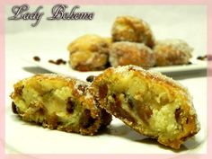 Italian food - Frittelle all'uvetta