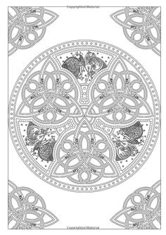 Art Therapy: Celtic: 100 Designs, Colouring in and Relaxation: Michel Solliec: 9781910254073: Books - Amazon.ca