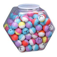 Nitro Eclipse Multi-colored Golf Balls Get your golf equipment at Golf USA. www.golfusa.co.za #GolfEquipment #CoolGolfEquipment