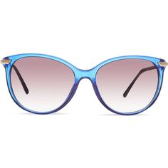 BURBERRY B4186 round sunglasses ($240) ❤ liked on Polyvore featuring accessories, eyewear, sunglasses, blue, round frame sunglasses, round blue sunglasses, round sunglasses, burberry sunglasses and round frame glasses