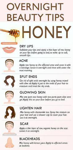 - Healthy Tips & Hacks - Overnight Beauty Tips with Honey - 14 Beneficial Beauty Tips for Face and Body C. Overnight Beauty Tips with Honey - 14 Beneficial Beauty Tips for Face and Body Care to Beautify Yourself from Head to Toe Beauty Tips With Honey, Beauty Tips For Face, Health And Beauty Tips, Beauty Secrets, Health Tips, Face Tips, Beauty Ideas, Beauty Tips And Tricks, Beauty Guide