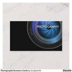 Shop Photography Business Cards created by Luckyturtle. Photography Business Cards, Things To Come, How To Make, Prints