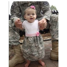 ARMY ACU Onesie Dress- How adorable is this?!