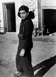 Gerda Taro Robert Capa, Segovia front, Spain, late May/early June 1937