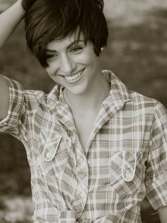 long pixie cut, snap I found Janet. Def not cutting my hair this short ever... Kendyl might