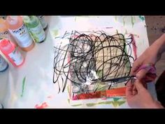 Transparent Acrylic Skins - YouTube - Isn't that amazing?! The video is from Jane Davies, who is one of my most favorite collage artists. It's a technique she learned from Patti Brady.