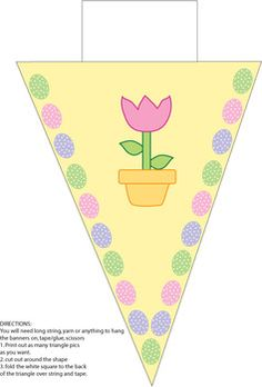 Flower 1 Banner - Party Decorations