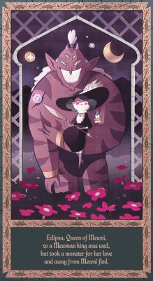 Eclipsa queen of Darkness Stars great great great great grandmother