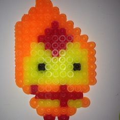 Flame Princess -  Adventure Time perler beads by meganmorphine