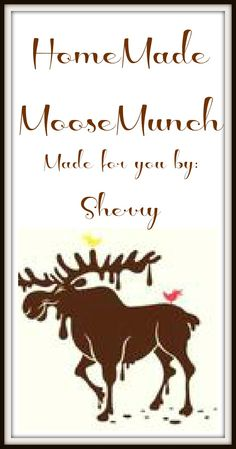 Pondered Primed Perfected {P3}: Award Winning Moose Munch Recipe