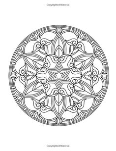 Zen Transcendental Mandala Coloring Book For Adults And Children Vol 1 Lilt Kids