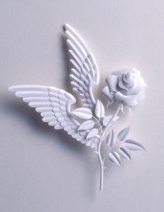 Уникальные картины в технике Бумагопластика.Hideharu Naitoh. Paper Sculpture Artist.. Обсуждение на LiveInternet - Российский Сервис Онлайн-Дневников