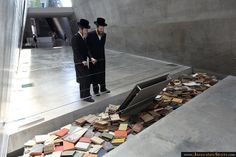 The Books from the Jewish Holocaust. In the Yad Vashem . You will come out of here a changed person.