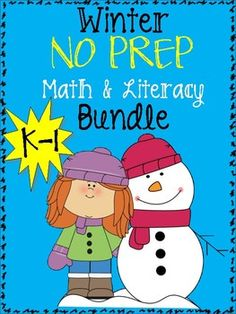 Winter NO PREP Literacy, Math, & Holiday Bundle (K-1) Includes: math, science, social studies, and language arts.65 + pages of resourcesThis is a set of various materials that can be used throughout the winter.  Perfect for pre-k - 1st.Included:+ In the Winter I can Sight Word emergent reader+ Arctic Animals Emergent Reader+ Presidents Day / American Symbols Emergent Reader+ Groundhogs Day Emergent Reader+ Will You be My Valentine Emergent Reader+ Martin Luther King Craftivity and Writing...