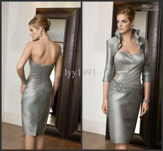 silver dresses for a wedding - dressy dresses for weddings Check more at http://svesty.com/silver-dresses-for-a-wedding-dressy-dresses-for-weddings/