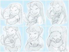 LILO and stitch growing up :/ sad