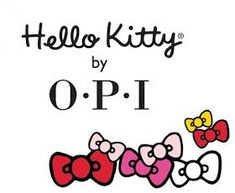 KellieGonzo: OPI Hello Kitty Collection Swatches & Review