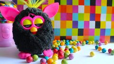 Furby  Funny Toy  love to eat  sweet candy