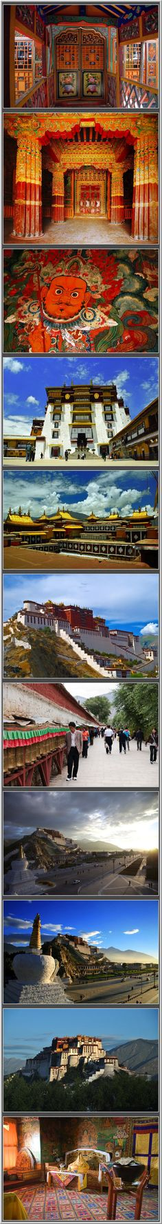 The Potala Palace in Tibet