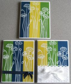 Steppin' Up Your Cards with Stampin' Up!'s Pleasant Poppies stamp