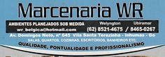 Eu recomendo Marcenaria WR- Vila Santa Terezinha, #Inhumas, #Goiás, #Brasil
