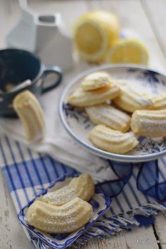 Biscottti al limone e cocco, senza uova