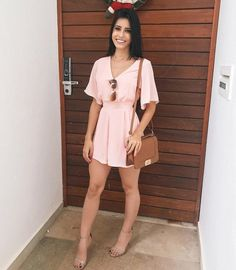 40 ultimate summer outfits to copy now 3 Related Girly Outfits, Chic Outfits, Trendy Outfits, Summer Outfits, Cute Dresses, Casual Dresses, Short Dresses, Fashion Dresses, Look Fashion
