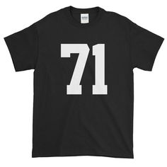 Team Jersey 71 Short sleeve t-shirt