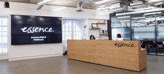 Essence Digital London Award-winning Office Design | Peldon Rose