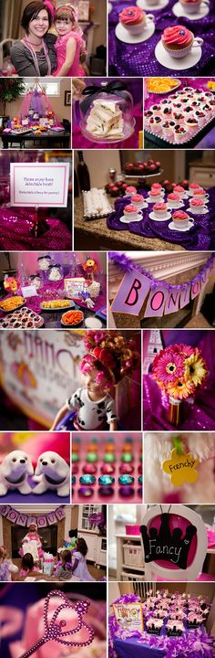 My Fancy Nancy inspiration blog post! Best ideas I've seen yet....