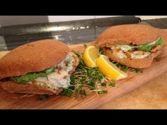 Video recipe attempt of fish baps from Jamie Oliver's 15 minute meal book
