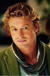 "Fell in love with Simon Baker in ""Something New."""