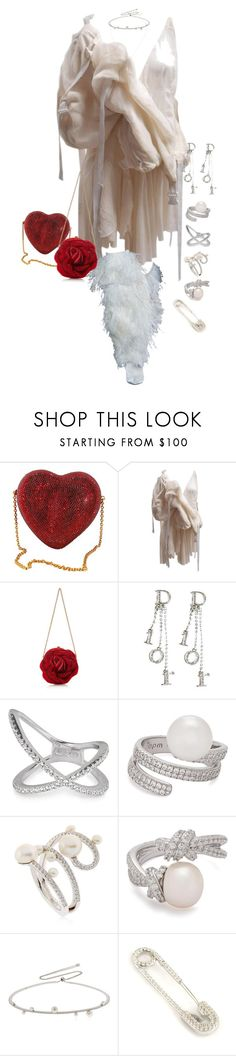 """""""Untitled #4476"""" by kimberlythestylist ❤ liked on Polyvore featuring Meadham Kirchhoff, Judith Leiber, Christian Dior and APM Monaco"""