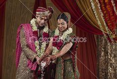 lindo casal indiano — Imagem Stock #47478109